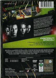 Fast and Furious di Rob Cohen - DVD - 2