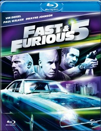 Cover Dvd Fast & Furious 5 (Blu-ray)