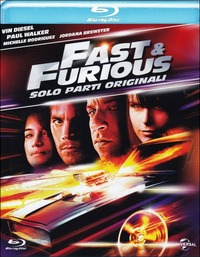 Cover Dvd Fast & Furious. Solo parti originali (Blu-ray)