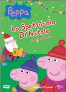 Peppa Pig. Lo spettacolo di Natale e altre storie - DVD