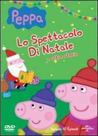 Cover Dvd Peppa Pig. Lo spettacolo di Natale e altre storie (DVD)