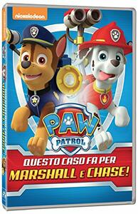 Paw Patrol. Questo caso fa per Marshall & Chase! - DVD