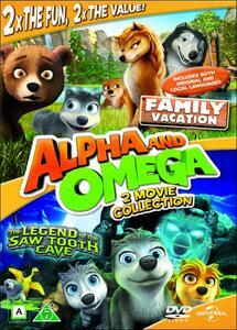 Alpha and Omega. La leggenda del fantasma della caverna. Vacanze in... - DVD