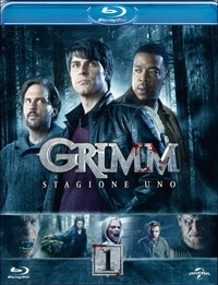 Cover Dvd Grimm. Stagione 1 (Blu-ray)