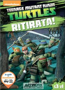Teenage Mutant Ninja Turtles. Stagione 3. Vol. 1. Ritirata! - DVD