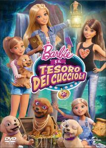 Barbie e il tesoro dei cuccioli - DVD