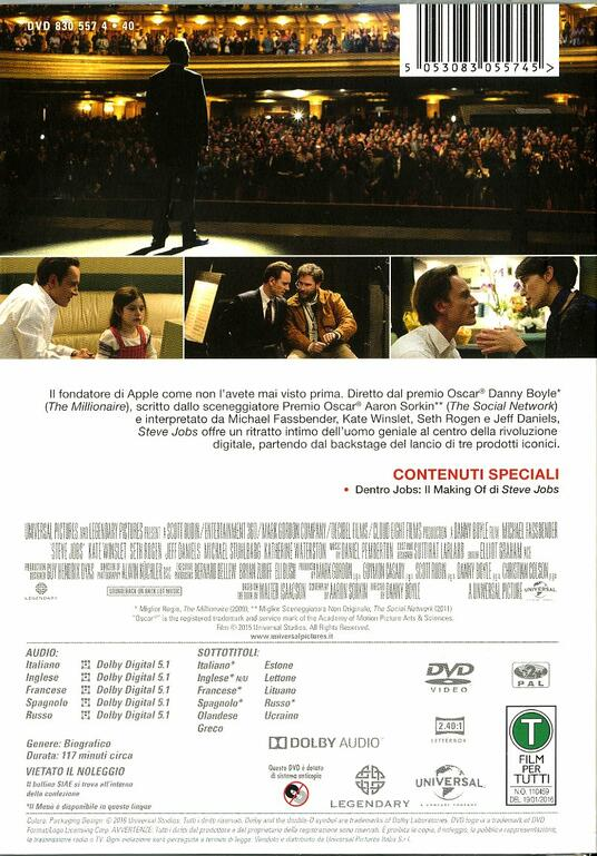 Steve Jobs di Danny Boyle - DVD - 6