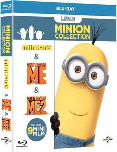 Minions Collection (3 Blu-ray) di Kyle Balda,Pierre Coffin,Chris Renaud