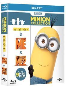 Minions Collection (3 Blu-ray) di Kyle Balda,Pierre Coffin,Chris Renaud - 2