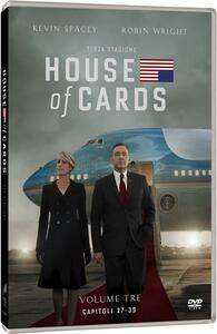 House of Cards. Stagione 3 (Serie TV ita) (4 DVD) - DVD