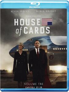 House of Cards. Stagione 3 (Serie TV ita) (4 Blu-ray) - Blu-ray