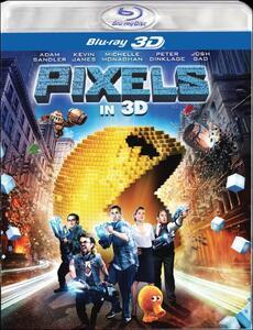 Pixels 3D di Chris Columbus - Blu-ray