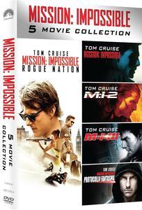 Mission: Impossible. Movie Collection (5 DVD) di J.J. Abrams,Brad Bird,Brian De Palma,Christopher McQuarrie,John Woo