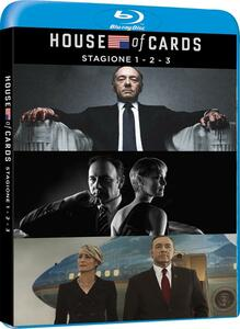 House of Cards. Stagione 1 - 3 (Serie TV ita) (12 Blu-ray) - Blu-ray