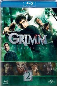 Film Grimm. Stagione 2 (6 Blu-ray) Norberto Barba David Solomon Clark Mathis
