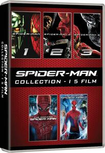 Spider-Man Collection (5 DVD) di Sam Raimi,Marc Webb