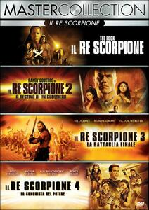 Il re scorpione. Master Collection (4 DVD) di Mike Elliott,Russell Mulcahy,Roel Reiné,Chuck Russell
