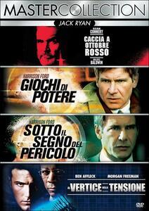 Jack Ryan. Master Collection (4 DVD) di John McTiernan,Phillip Noyce,Phil Alden Robinson