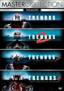 Tremors. Master Collection (4 DVD) di Brent Maddock,Ron Underwood,S. S. Wilson