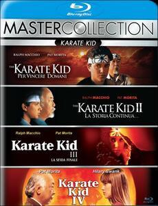 Karate Kid. Master Collection (4 Blu-ray) di John G. Avildsen,Christopher Cain