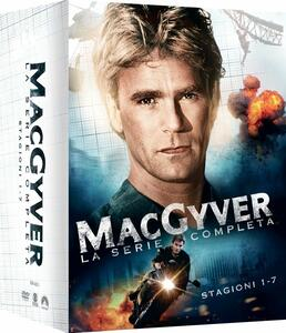 MacGyver. Stagione 1 - 7 (38 DVD) - DVD