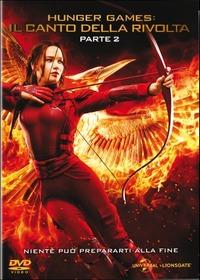 Cover Dvd Hunger Games. Il canto della rivolta. Parte 2 (DVD)