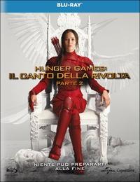 Cover Dvd Hunger Games. Il canto della rivolta. Parte 2 (Blu-ray)
