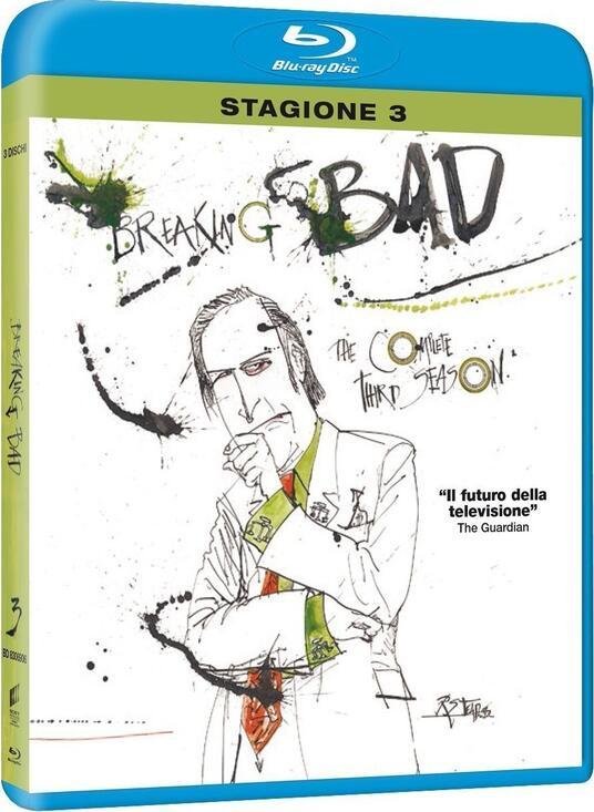 Breaking Bad. Stagione 3 (3 Blu-ray) di Bryan Cranston,Adam Bernstein,Michelle MacLaren - Blu-ray