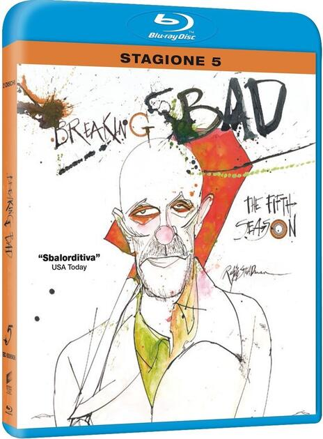 Breaking Bad. Stagione 5. Parte 1 (2 Blu-ray) di Michael Slovis,Michelle MacLaren,Adam Bernstein - Blu-ray
