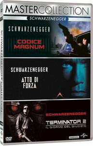 Arnold Schwarzenegger. Master Collection (3 DVD) di James Cameron,John Irvin,Paul Verhoeven