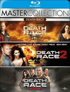 Death Race. Master Collection (3 Blu-ray) di Paul W.S. Anderson,Roel Reiné