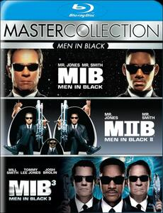 Men In Black. Master Collection (3 Blu-ray) di Barry Sonnenfeld