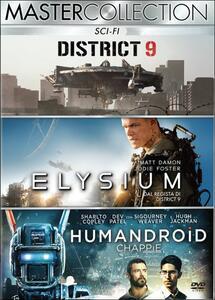 Sci-Fi. Master Collection (3 DVD) di Neill Blomkamp
