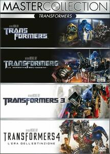 Transformers. Master Collection (4 DVD) di Michael Bay