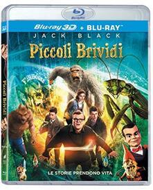 Piccoli brividi (Blu-ray + Blu-ray 3D) di Rob Letterman - Blu-ray + Blu-ray 3D