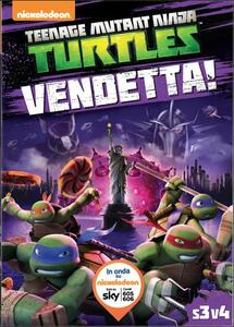 Teenage Mutant Ninja Turtles. Stagione 3. Vol. 4. Vendetta! - DVD