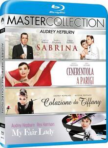 Audrey Hepburn. Master Collection (4 Blu-ray) di George Cukor,Stanley Donen,Blake Edwards,Billy Wilder
