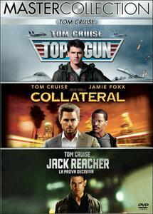 Tom Cruise. Master Collection (3 DVD) di Michael Mann,Christopher McQuarrie,Tony Scott