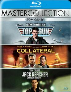 Tom Cruise. Master Collection (3 Blu-ray) di Michael Mann,Christopher McQuarrie,Tony Scott