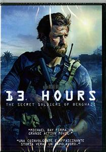 13 Hours. The Secret Soldiers of Benghazi di Michael Bay - DVD