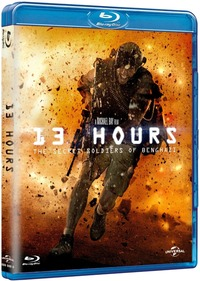 Cover Dvd 13 Hours. The Secret Soldiers of Benghazi (Blu-ray)