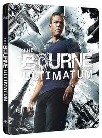 Cover Dvd The Bourne Ultimatum. Il ritorno dello sciacallo. Con Steelbook (Blu-ray)