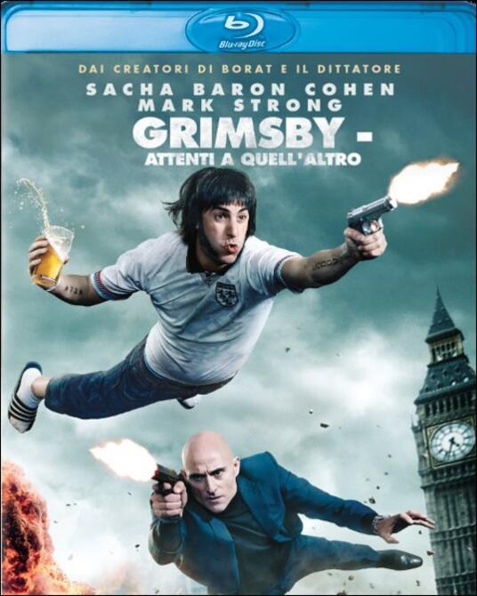 Grimsby. Attenti a quell'altro di Louis Leterrier - Blu-ray