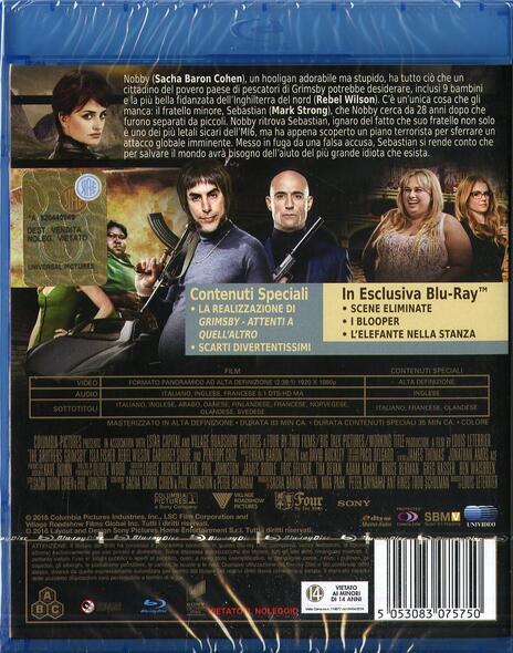 Grimsby. Attenti a quell'altro di Louis Leterrier - Blu-ray - 2