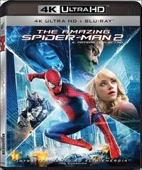Cover Dvd Amazing Spider-Man 2. Il potere di Electro (Blu-ray Ultra HD) (Blu-ray)