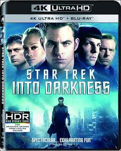 Into Darkness. Star Trek (Blu-ray + Blu-ray 4K Ultra HD) di J.J. Abrams