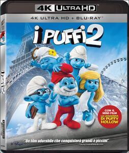 I Puffi 2 (Blu-ray + Blu-ray 4K Ultra HD) di Raja Gosnell