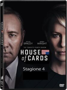 House of Cards. Stagione 4 (Serie TV ita) (4 DVD) - DVD