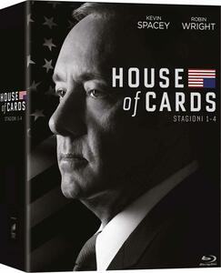 House of Cards. Stagione 1 - 4 (Serie TV ita) (16 Blu-ray) - Blu-ray