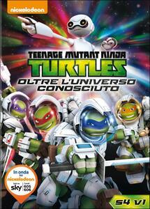Teenage Mutant Ninja Turtles. Stagione 4. Vol. 1. Oltre l'universo conosciuto - DVD